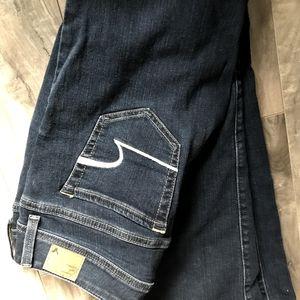 American Eagle Stretch Original Boot Jeans Size 4